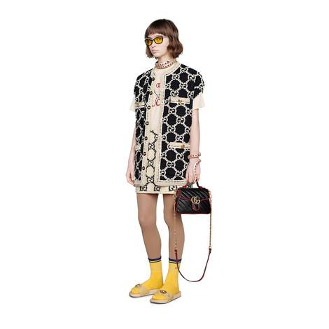 Gucci 网球印花 T 恤