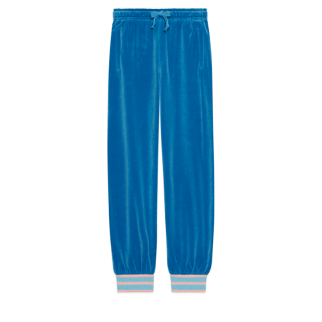 绳绒慢跑长裤