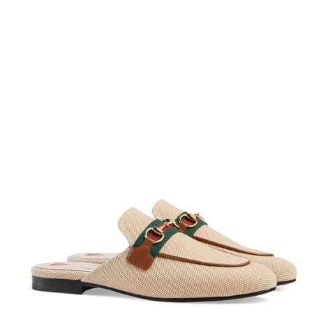 Princetown 系列女士帆布拖鞋