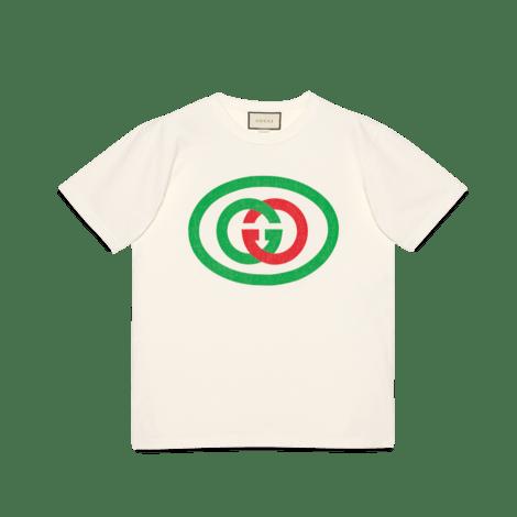 互扣式 G 超大造型 T 恤