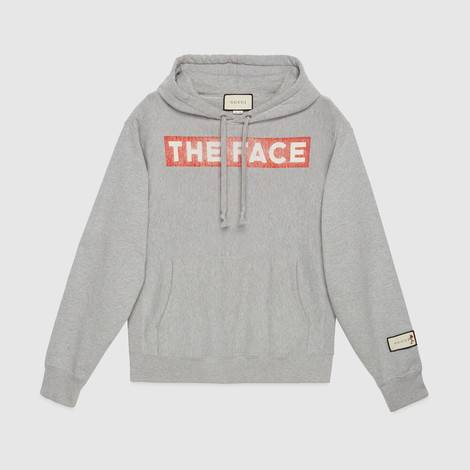 """The Face""兜帽卫衣"