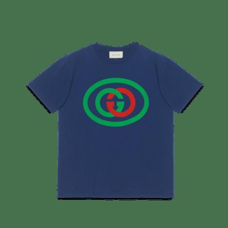 互扣式 G 廓形 T 恤