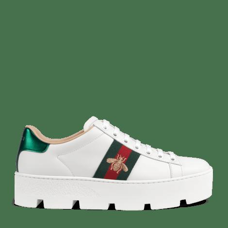 Ace 系列女士刺绣防水台运动鞋