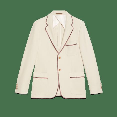 贴饰针织夹克