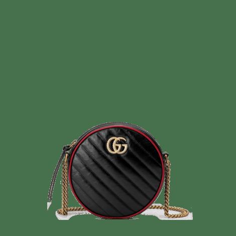 GG Marmont 系列圆形迷你肩背包