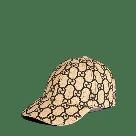 饰蛇皮 GG 棒球帽