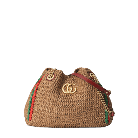官网专享GG Marmont 系列中号购物袋