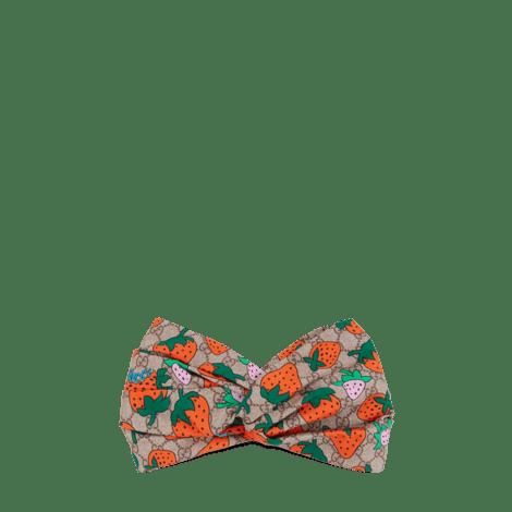 GG和Gucci草莓印花发带