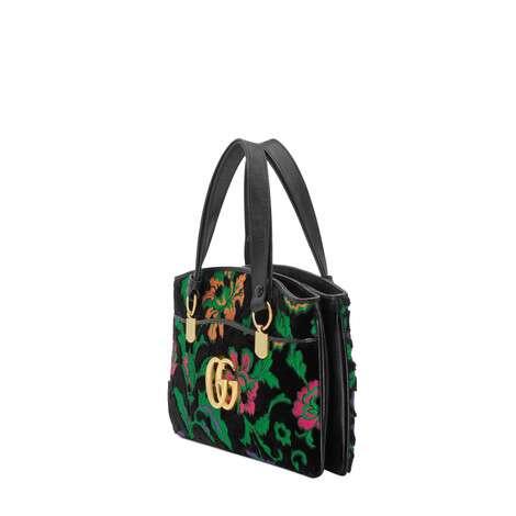 Arli 系列花卉图案大号手提包