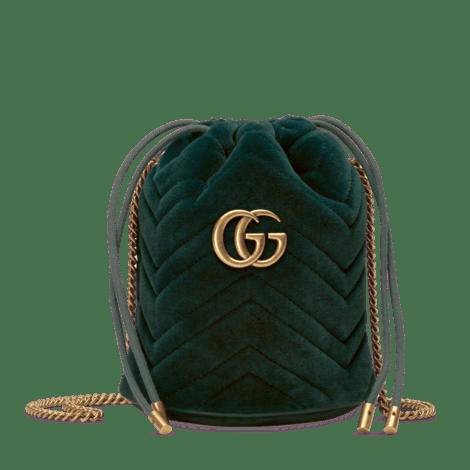 GG Marmont 系列迷你水桶包