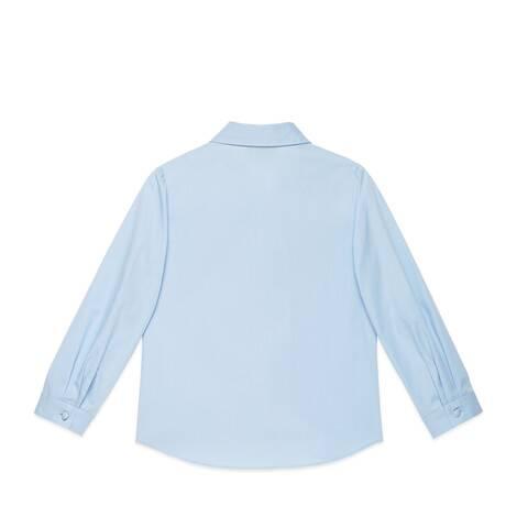 儿童蝴蝶结棉质衬衫