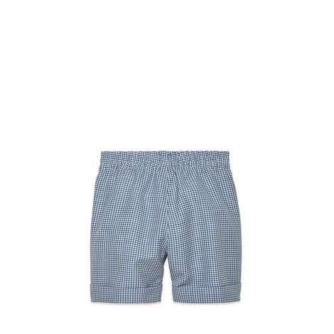 儿童羊毛马海毛混纺短裤