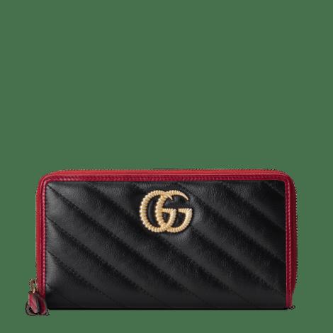 GG Marmont 系列全拉链钱包