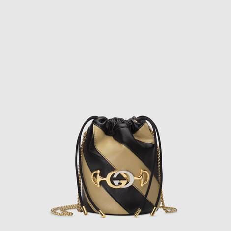 Gucci Zumi系列迷你水桶包