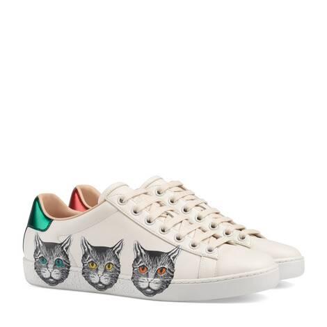 Ace 系列女士Mystic  Cat印花运动鞋
