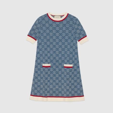 GG 针织连衣裙