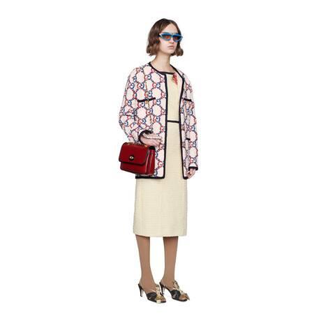 Sylvie系列GG花呢廓形夹克