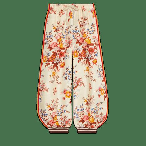 双材质慢跑长裤