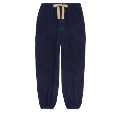 V 字纹牛仔裤