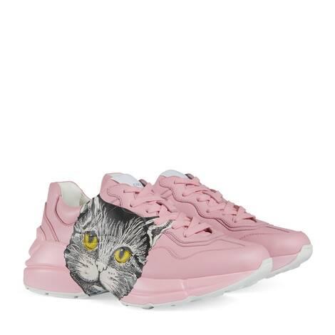 Rhyton 系列女士Mystic Cat印花运动鞋