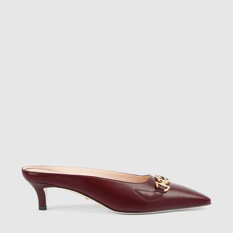 Gucci Zumi系列皮革凉鞋