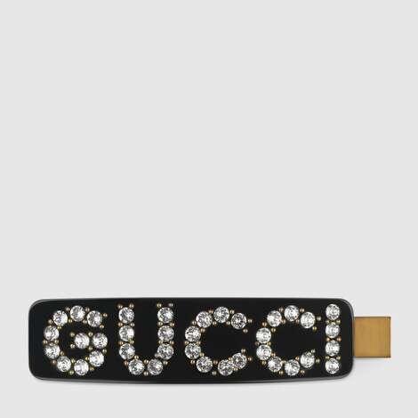水晶Gucci单发夹