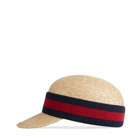 饰织带帽子