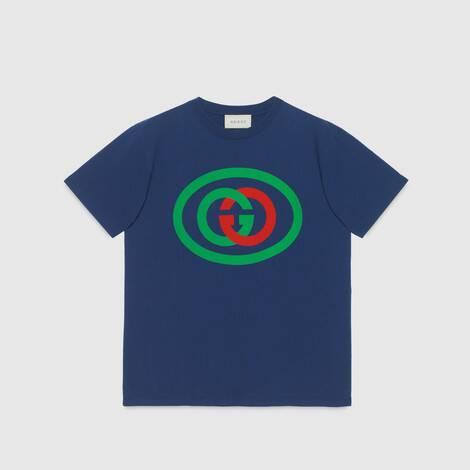 互扣式 G 超大造型T恤