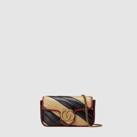 GG Marmont 系列超迷你手袋