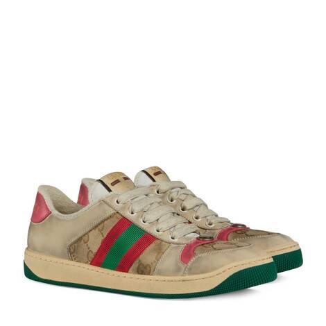 女士Screener系列皮革运动鞋