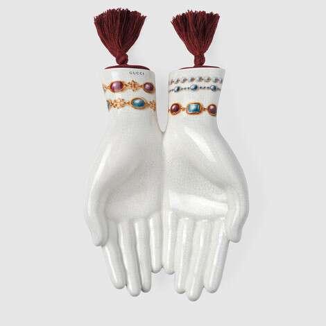 珠宝印花手形托盘