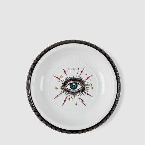 星眼印花首饰托盘