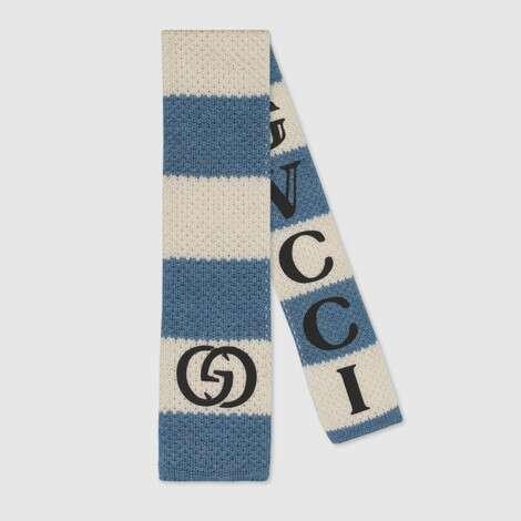 儿童条纹棉质领带