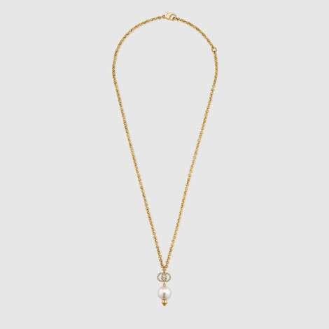 互扣式 G 珍珠项链