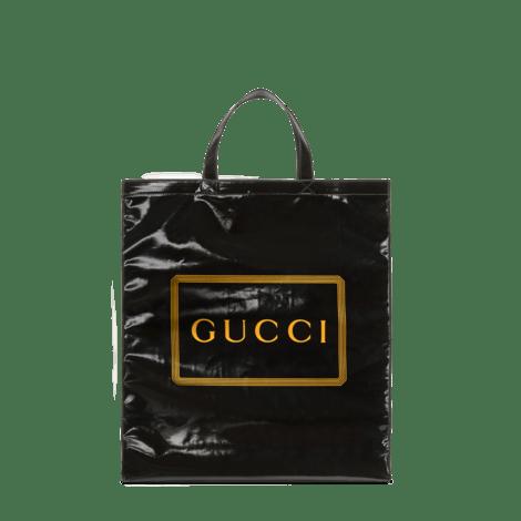 中号 Gucci 印花购物袋