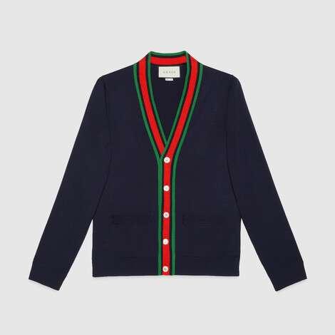 羊毛针织开衫