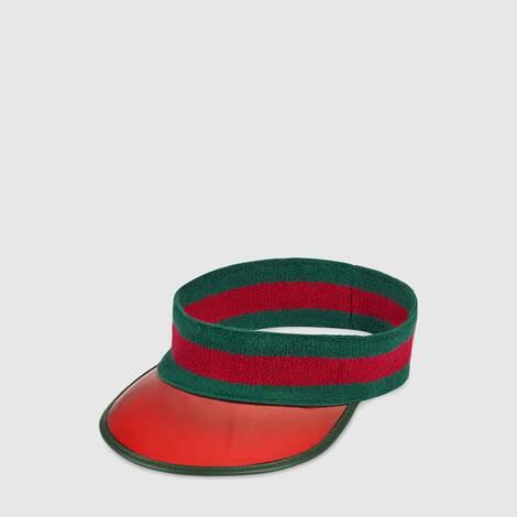 饰织带乙烯基遮阳帽