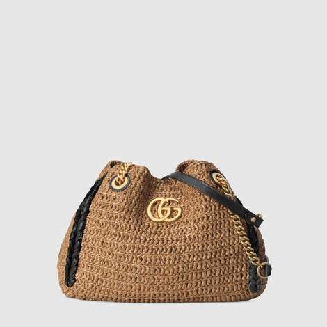 GG Marmont系列中号购物袋
