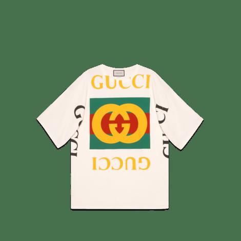 Gucci 标识廓形 T 恤