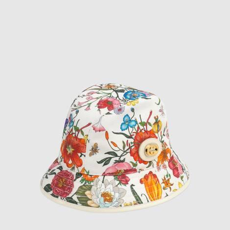 饰花卉印花软呢帽