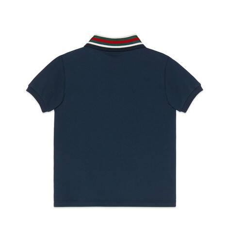 儿童织带和虎头 Polo 衫