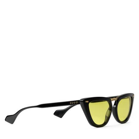 猫眼造型醋纤太阳眼镜