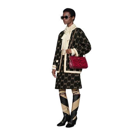 GG 羊毛针织夹克