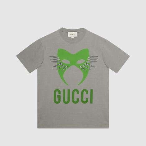 古驰宣言系列廓形T恤