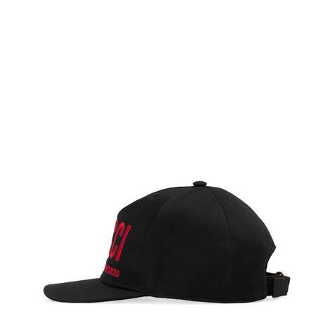 饰 Gucci 刺绣棒球帽