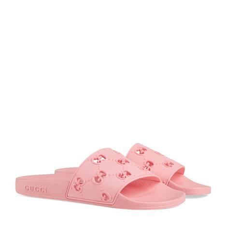 女士橡胶GG拖鞋