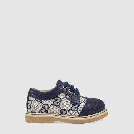 幼儿 GG 皮鞋