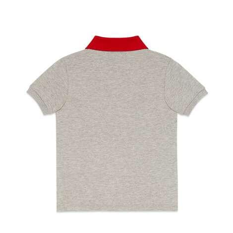 儿童刺绣polo衫