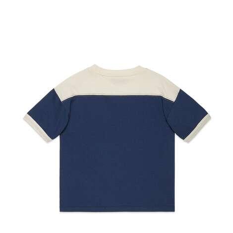 儿童Gucci老虎印花T恤