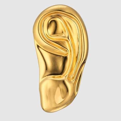 金属材质左耳饰